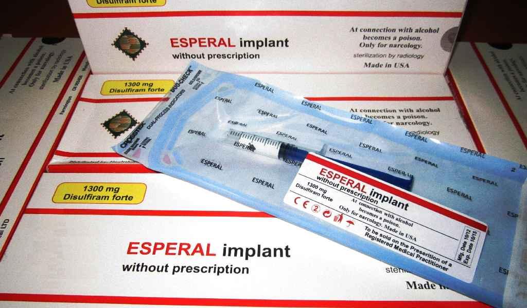 Имплантация препарата Эспераль в Дедовске стоимость